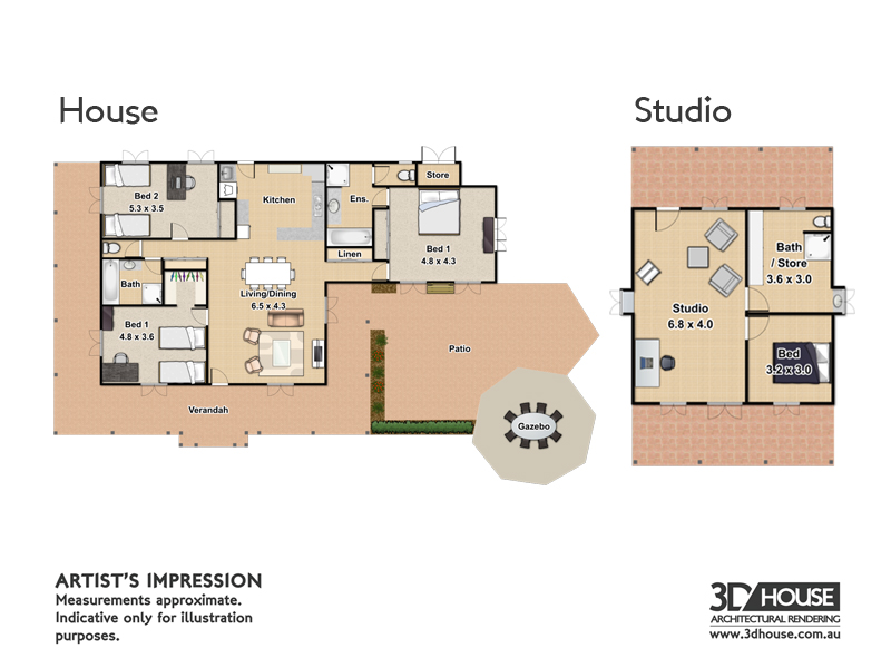 A preview of our real estate floor plans