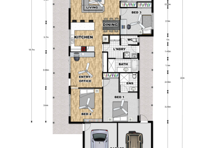 Floor Plan for Bank Valuation