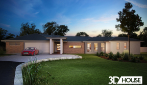 Large House Visualisation – Sunshine Coast