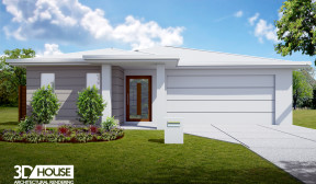 Exterior Visualisation – Bells Reach, Caloundra