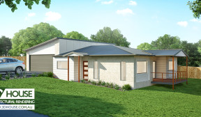 3D Exterior Visualisation – Nambour