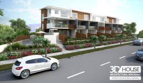 Townhouse Complex Visualisations – Maroochydore