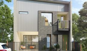 Industrial Terrace House Visualisation – Maroochydore