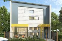 Modern Terrace House Visualisation – Maroochydore
