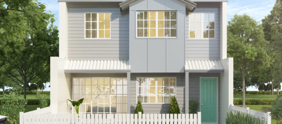 Hampton Style Terrace House Visualisation